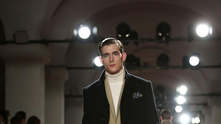 Hackett London: Catwalk - London Collections: MEN AW13