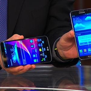 Curved smartphone? Latest generation has arc displays