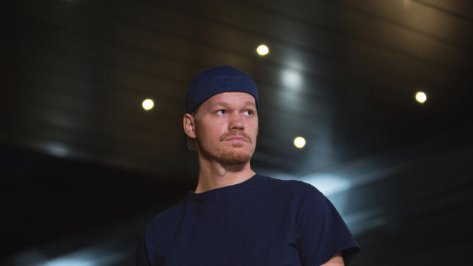 "This photo provided by courtesy of the Toronto International Film Festival shows Jesse Plemons as Floyd Landis in a scene from the film, ""The Program,"" directed by Stephen Frears. The blockbuster summer movie season is still going strong, but the Toronto International Film Festival provided a peek Tuesday, July 29, 2015, at some of the movies and performances, including ""The Martian,"" ""The Program,"" ""Trumbo,"" and others, that could help set the tone for the upcoming awards season. The festival will kick off its 40th year on Sept. 10 with the romantic drama ""Demolition,"" starring Naomi Watts and Jake Gyllenhaal. (Dean Rogers/Toronto International Film Festival via AP)"