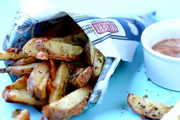 Parmesan Ranch Oven Fries