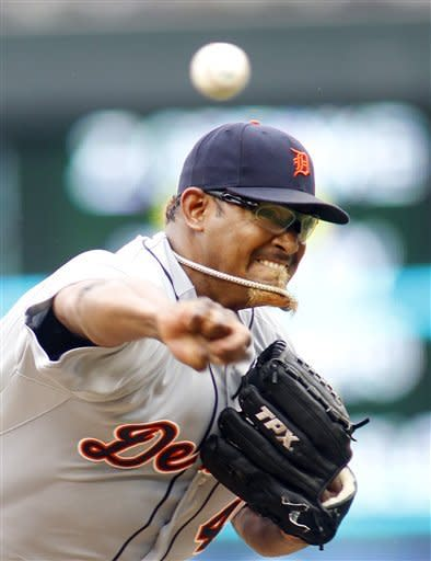 Scherzer Ks 9, Tigers down Twins 6-3