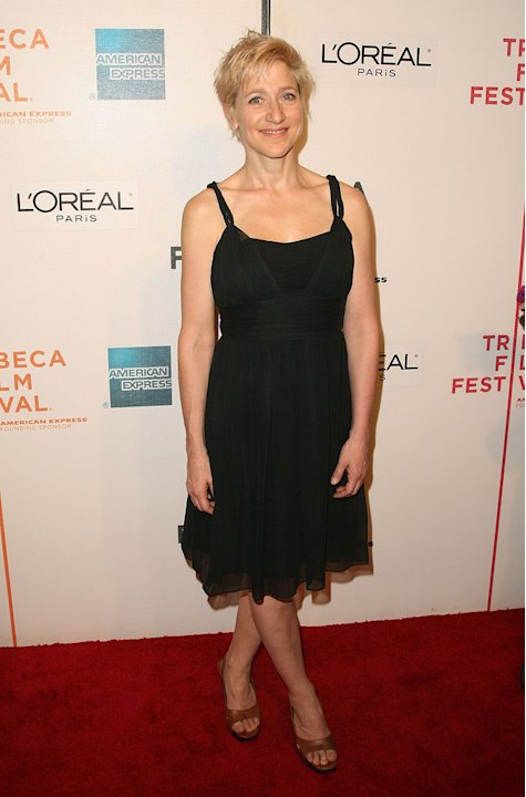 "Edie Falco attends the after party for ""Serious Moonlight"" during the 2009 Tribeca Film Festival at Tenjune on April 25, 2009"