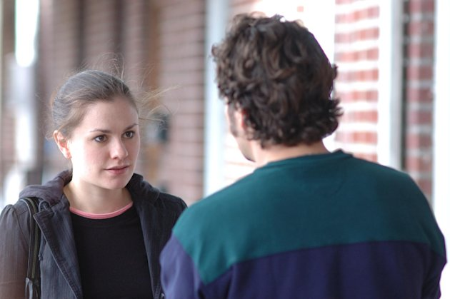 "In this film image released by Fox Searchlight Films, Anna Paquin, left, and Mark Ruffalo are shown in a scene from ""Margaret."" Playwright-director Kenneth Lonergan debuted his preferred, 188-minute cut of the film in a kind of belated premiere Monday night in New York. The event was a culmination of gathering support for what some consider an unfairly treated masterpiece. (AP Photo/Fox Searchlight Films, Myles Aronowitz)"