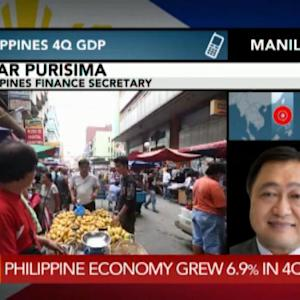 Philippine Economy in `Upward Trajectory': Purisima