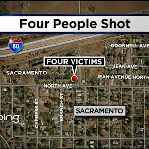 Four People Shot In North Sacramento