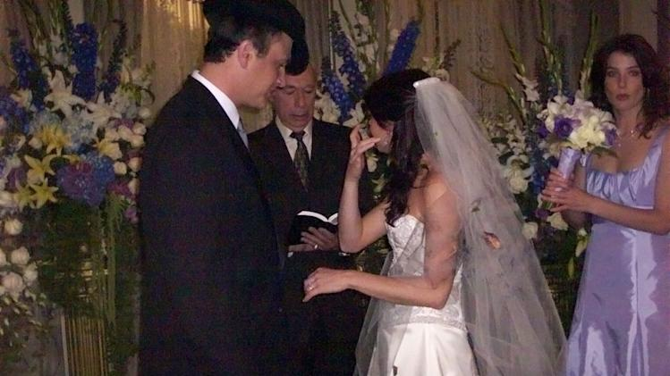 HIMYM wedding candids