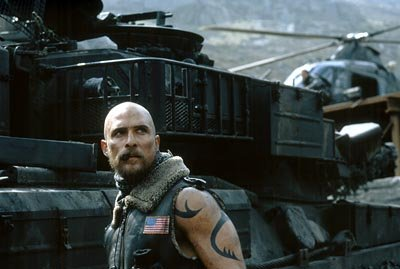 Matthew McConaughey as Van Zan in Touchstone's Reign of Fire