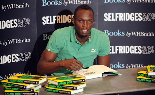"Usain Bolt: ""Faster Than Lighting"" - Book Signing"