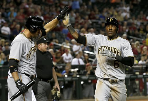 McCutchen, Jones lead Pirates past Arizona  5-3