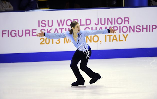 World Junior Figure Skating Championships 2013 - Day 6