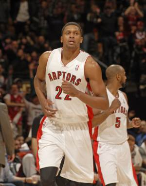 Gay has 20 in debut, Raptors rout Clippers 98-73