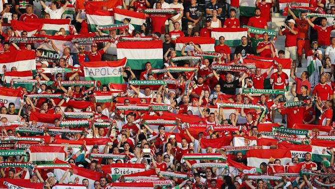 Hungary fans