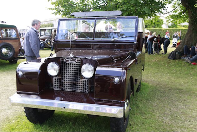 goodwood 1953 land rover