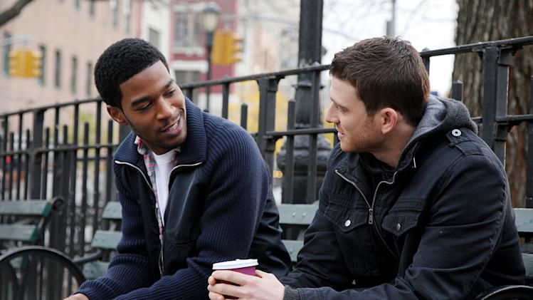 "Scott ""Kid Cudi"" Mescudi, and Bryan Greenberg in ""How To Make It In America."""