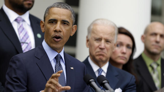 Obama taking action on gun background check system
