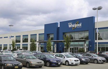 Whirlpool appliance manufacturing plant located in Cleveland
