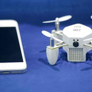 CES 2015: THIS MINIATURE DRONE WILL TAKE YOUR PICTURE FROM THE SKY