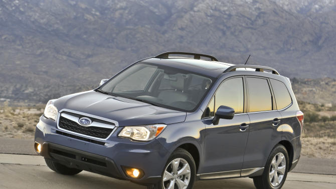 Subaru Forester remains smartly sized