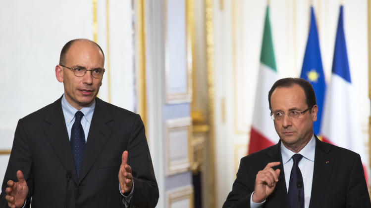 Italy's new PM pushes for European banking union