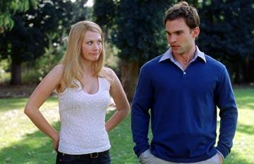 January Jones and Seann William Scott in American Wedding