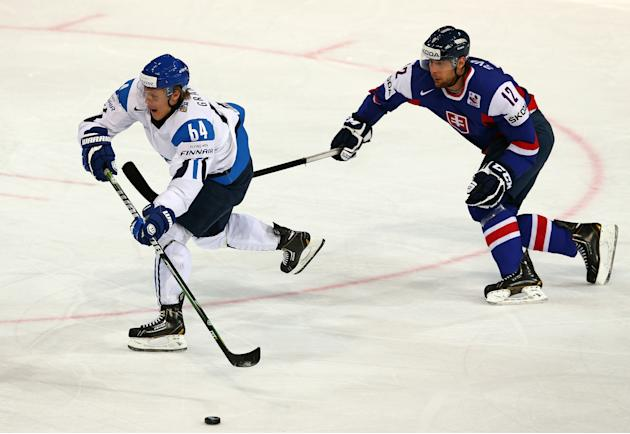 Finland v Slovakia - 2013 IIHF Ice Hockey World Championship Quarterfinals