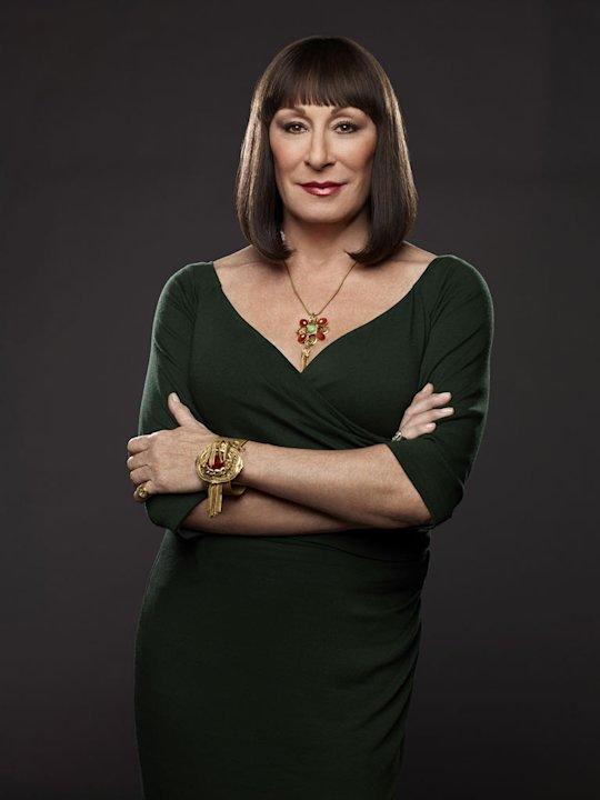 "Anjelica Huston stars as Eileen Rand in ""Smash."""