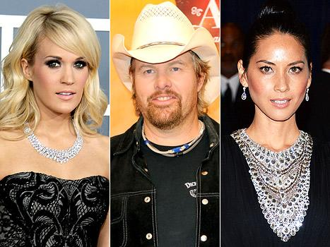 Oklahoma Tornado: Carrie Underwood, Toby Keith and Olivia Munn React