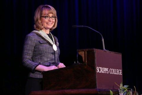 Scripps College Honors Alumna and Former U.S. Congresswoman Gabrielle Giffords