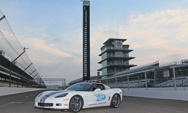 2012 Chevy Corvette Indy Pace Car