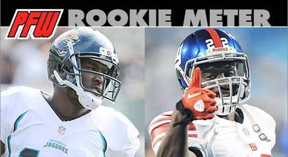 Rookie Meter: No real busts, but some rookies fell short