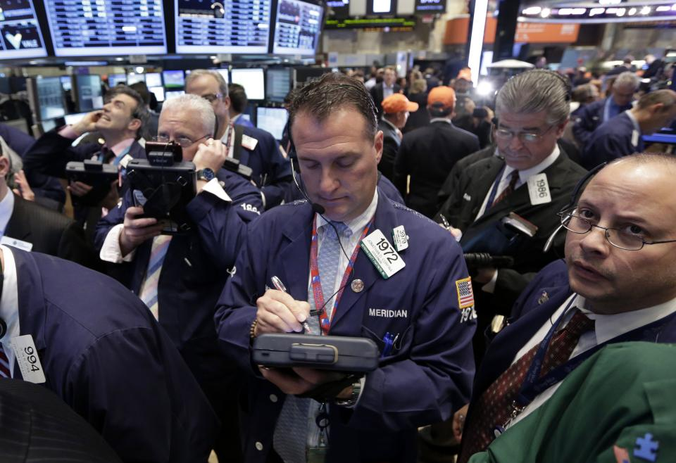 Stocks surge to new highs after hiring climbs