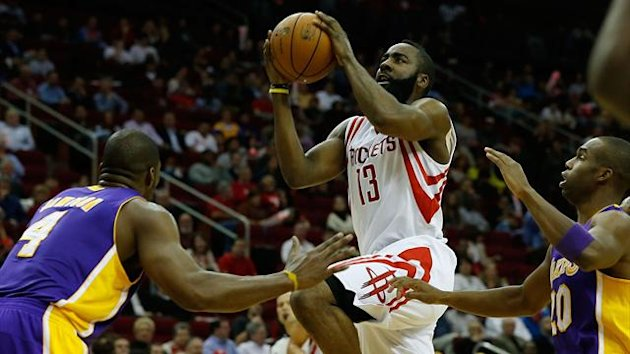 2013, James Harden, Houston Rockets-LA Lakers, Ap/LaPresse