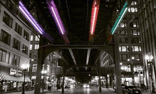 Chicagoans Capture First Images of Wabash Lights Test