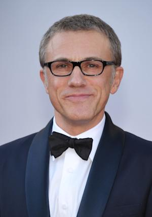 Actor Christoph Waltz arrives at the 85th Academy Awards at the Dolby Theatre on Sunday Feb. 24, 2013, in Los Angeles. (Photo by John Shearer/Invision/AP)