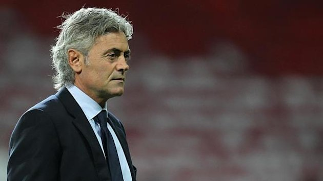 2010-11 FOOTBALL Franco Baldini, England general manager