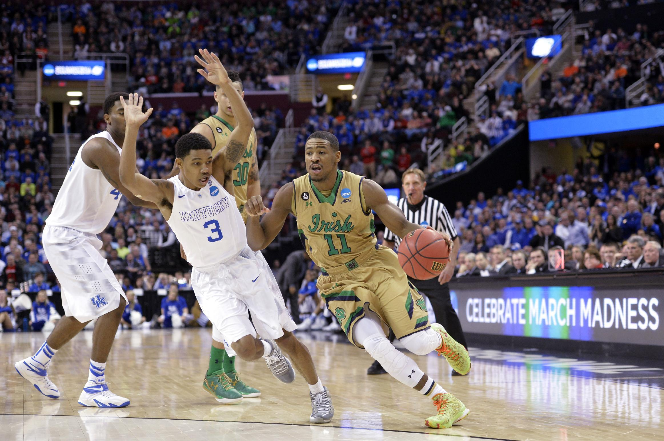 Notre Dame's memorable season ends with heartbreaking loss