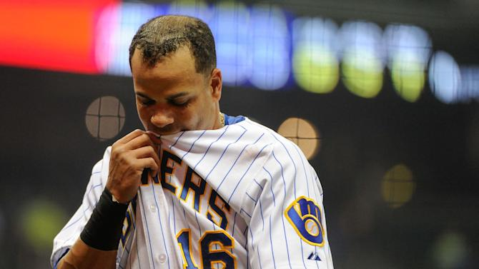 MLB: Arizona Diamondbacks at Milwaukee Brewers
