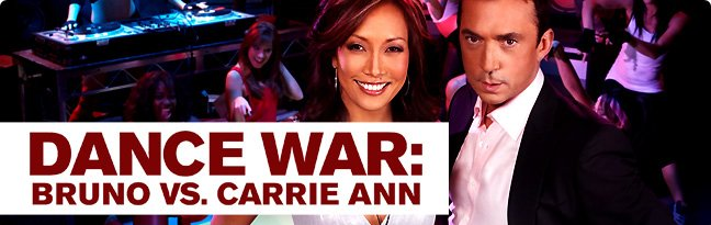 Dance War: Bruno vs. Carrie Ann