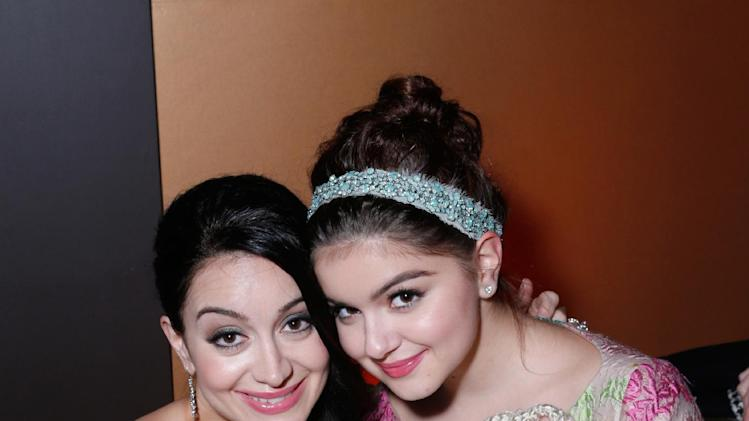 Actresses Ariel Winter, left, and Shanelle Workman attend the Fox Golden Globes Party on Sunday, January 13, 2013, in Beverly Hills, Calif. (Photo by Todd Williamson/Invision for Fox Searchlight/AP Images)