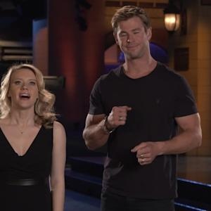 Hemsworth's Hotness Stuns In 'SNL' Promo