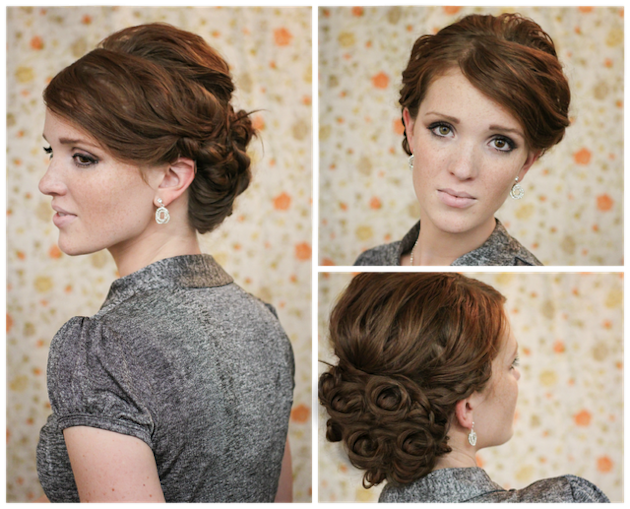 Twist and Turns Updo