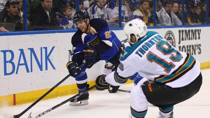 San Jose Sharks v St. Louis Blues