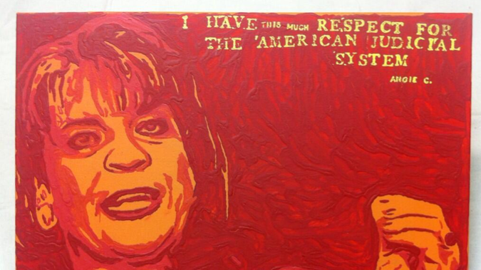 George Zimmerman Goes Shepard Fairey For His Latest Piece of 'Art'