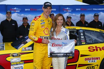 NASCAR Martinsville 2015 qualifying results: Joey Logano wins pole