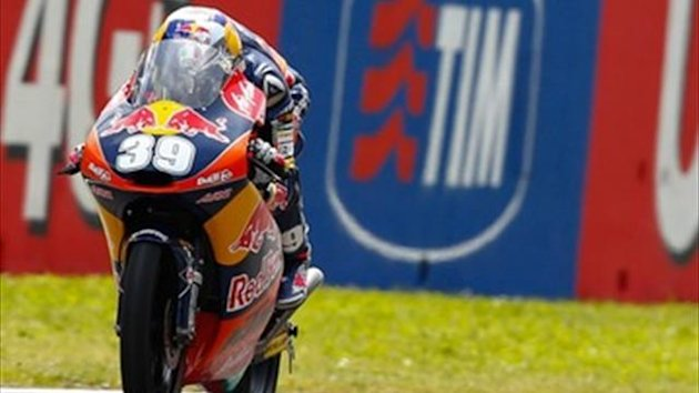 Luis Salom won in Mugello