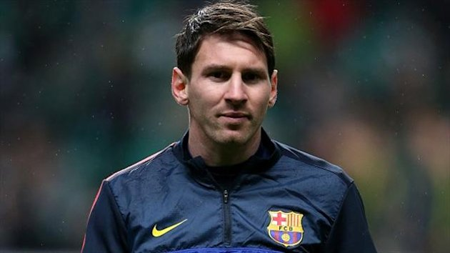 Lionel Messi has a thigh injury