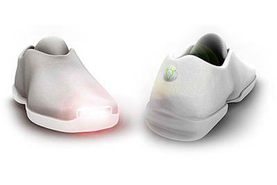 Headlight sneakers