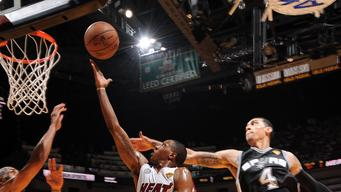 Heat beat Spurs in Game 2 to tie NBA Finals