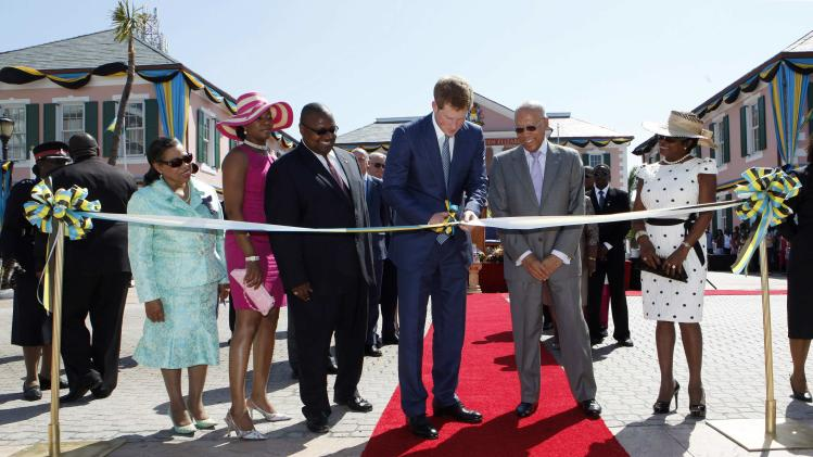 Prince Harry Tours Bahamas To Mark Queen Elizabeth II's Diamond Jubilee
