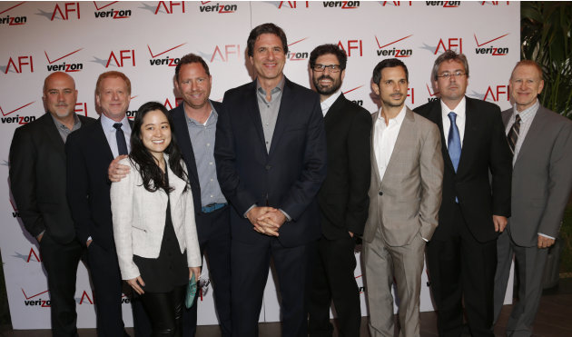 Crew of Modern Family attend the 13th Annual AFI Awards Luncheon at the Four Seasons Hotel Los Angeles at Beverly Hills on Friday, January 11, 2013 in Los Angeles. (Photo by Todd Williamson/Invision/A